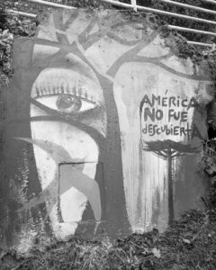 Photograph: America Was Not Discovered