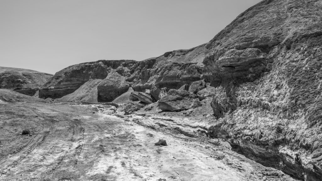 Photograph: Dry Rivercourse